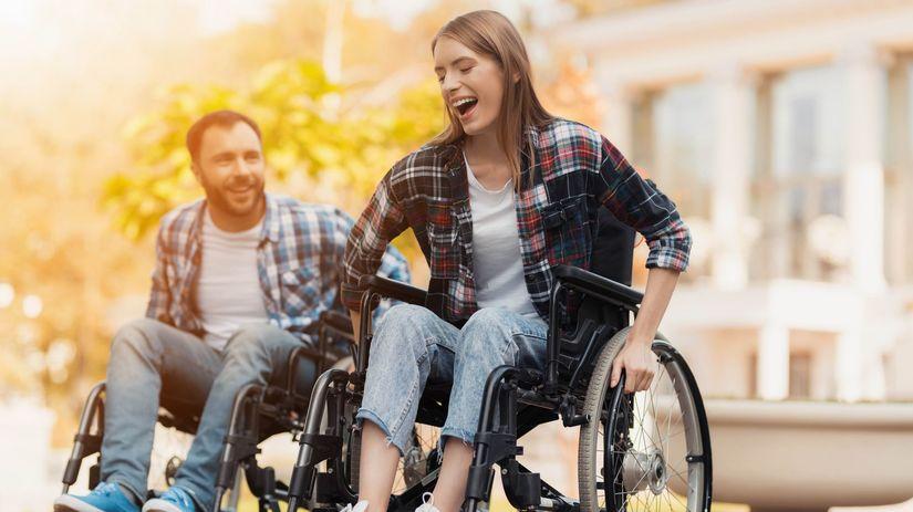 vozíčkari, ťzp, radosť