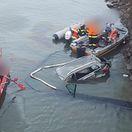 Muž vletel autom do Oravskej priehrady, nehodu neprežil