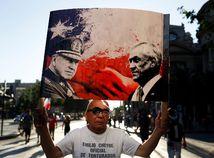 Čile / protest / Piňera / Pinočet /