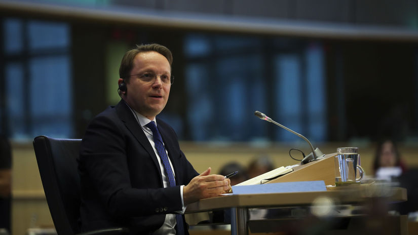 Eurokomisár Oliver Várhelyi
