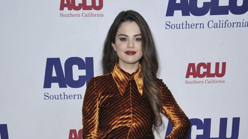 Herečka a speváčka Selena Gomez na podujatí...