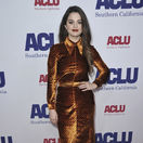 Herečka a speváčka Selena Gomez na podujatí ACLU SoCal's Annual Bill of Rights Dinner.