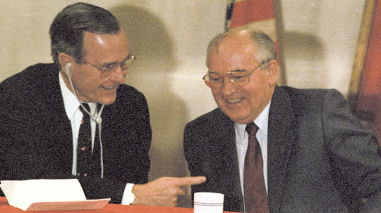 Malta, Bush, Gorbačov