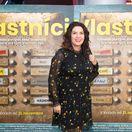 Moderátorka Iveta Malachovská na premiére filmu Vlastníci.