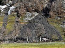 rakúsko, dom, svah, zosuv pôdy