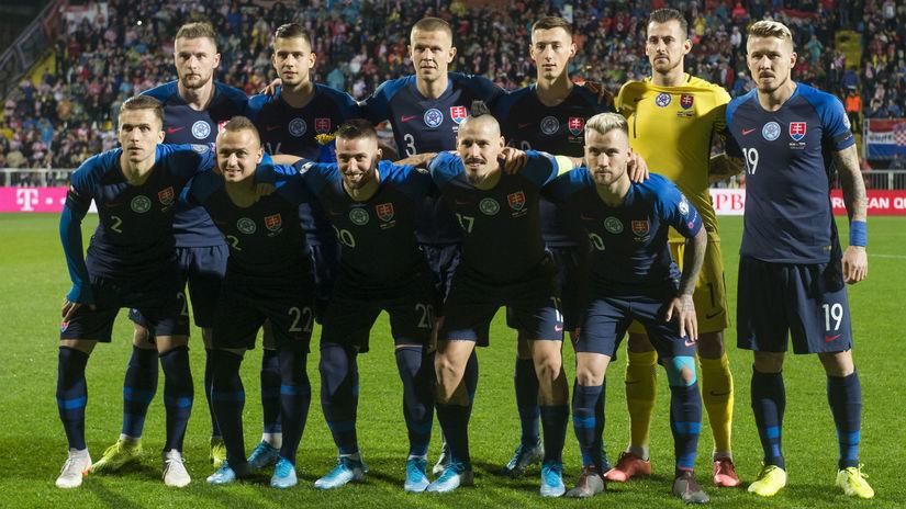 Slovensko, Chorvátsko, futbalisti
