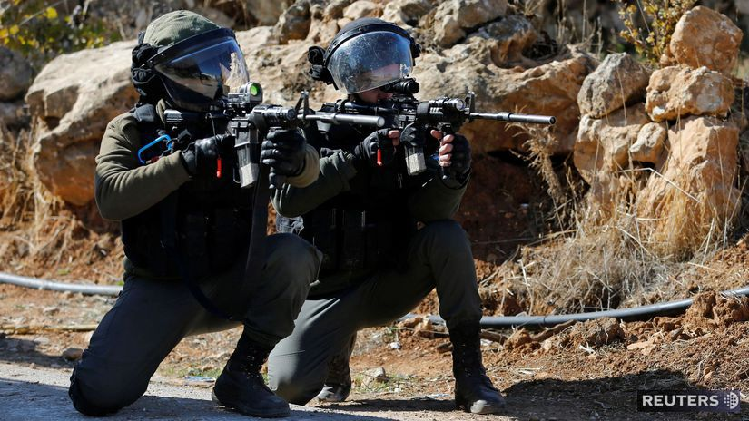 izraelská hraničná polícia jordán