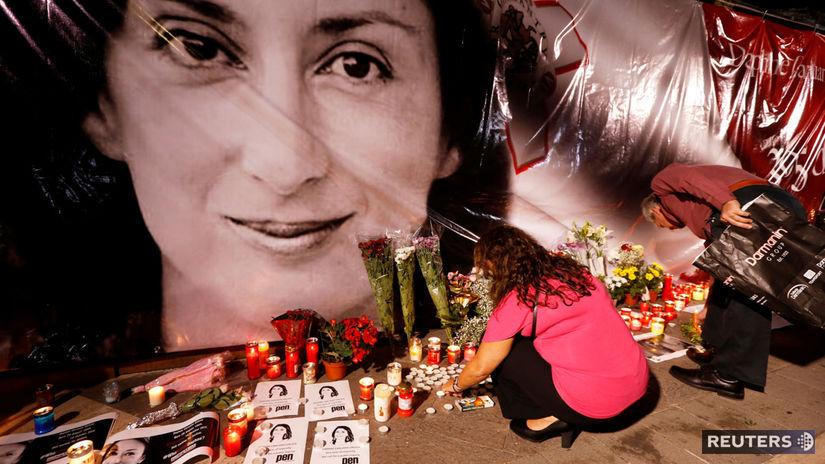 malta vražda novinárka Daphne Caruanaová Galiziová