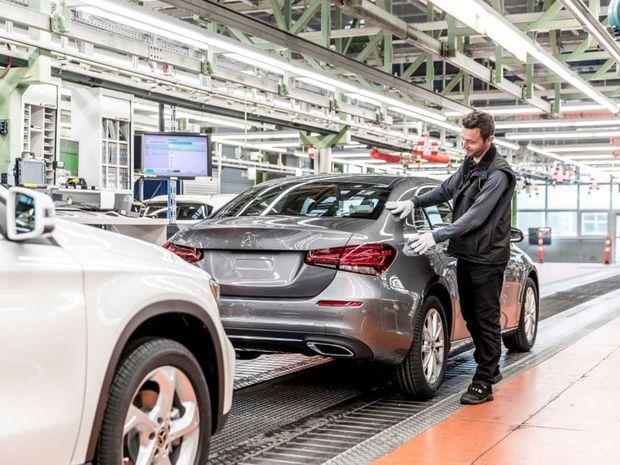 Mercedes-Benz - výroba