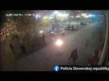 Podpálil sa muž v Bratislave