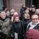 Protest pred MKSK