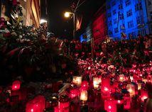 Spomienka na nežnú revolúciu v Prahe