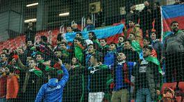 Azerbajdžanskí fanúšikovia,