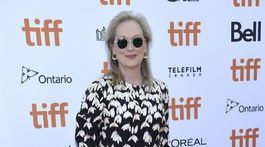 Herečka Meryl Streep na zábere zo septembra z filmového festivalu v Toronte.