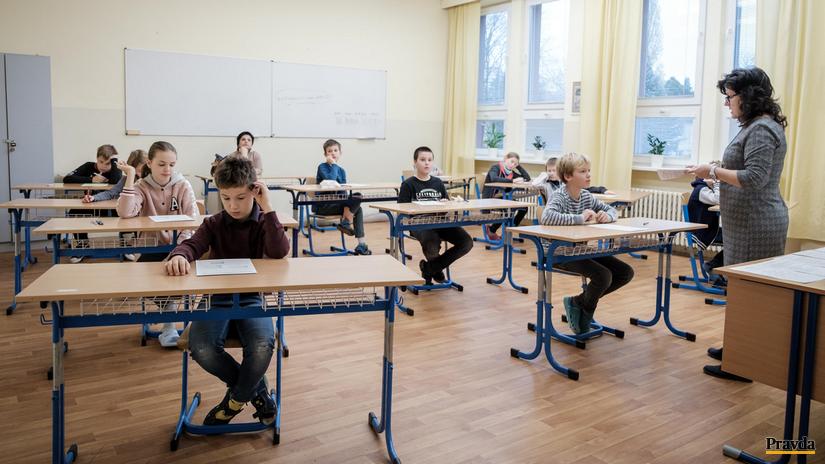 monitor testovanie škola