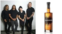 Členovia formácie Metallica (zľava: Kirk Hammett, Robert Trujillo, Lars Ulrich a James Hetfield) majú podiely vo whisky značky pod názvom Blackened American Whiskey.