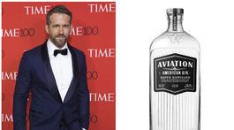 Herec Ryan Reynolds je tiež fanúšikom džinu. Aj preto na trh uviedol v spojení s výrobcom tohto alkholického nápoja svoj Aviation American Gin.