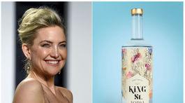Herečka Kate Hudson investovala do výroby bezgluténovej vodky King St. Vodka, ktorá zároveň neobsahuje GMO látky.