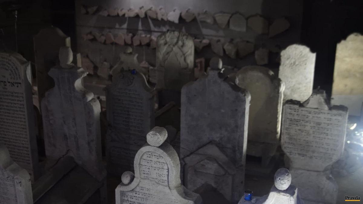 hroby, židia, Pamätník Chatama Sofera