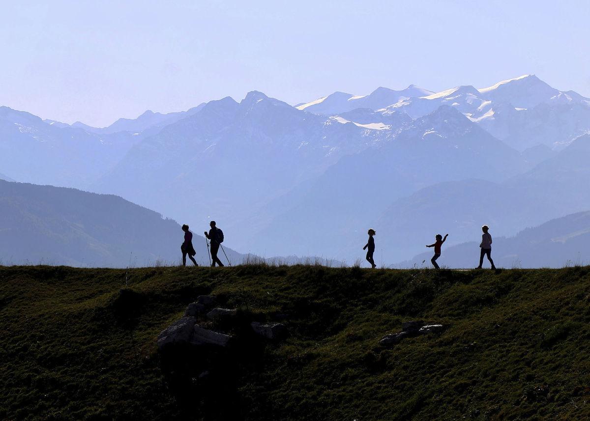Rakúsko, hory, Alpy, turistika, turisti