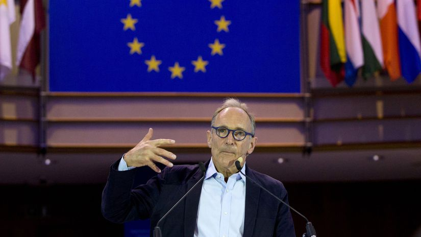 USA internet vynálezca Tim Berners-Lee