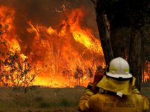 Austrália / požiare /