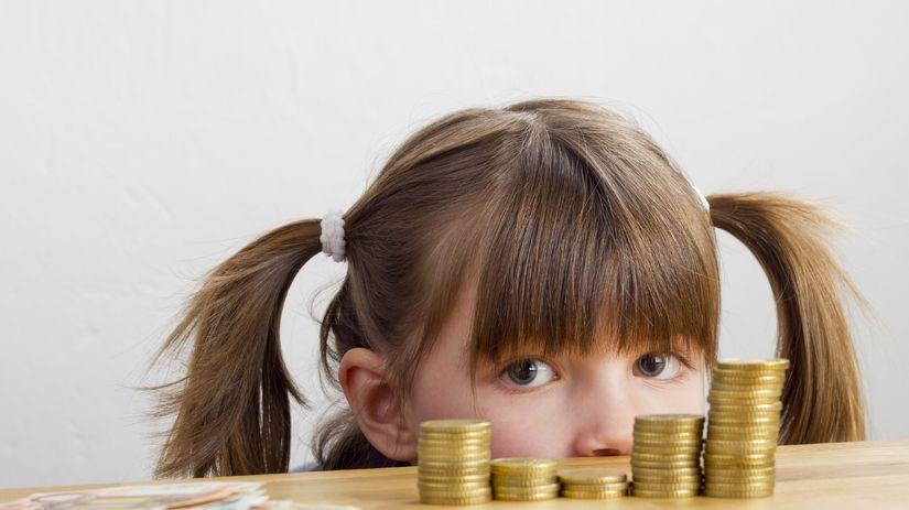 dieťa, peniaze, škola, školné