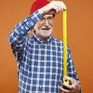 dôchodca, dedko, meter, meranie