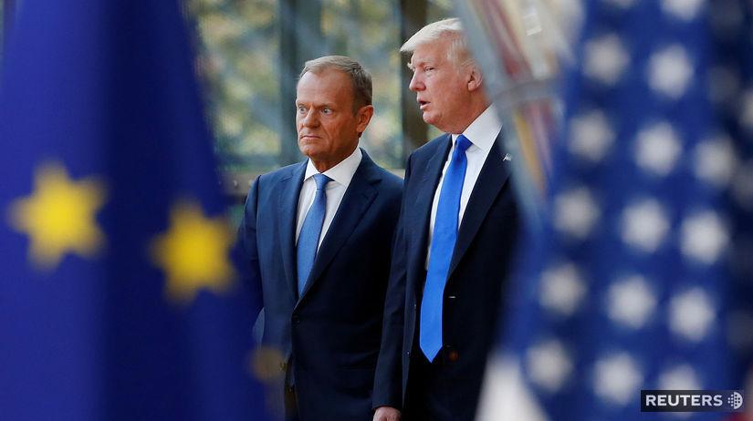 EÚ / Donald Tusk / Donald Trump /