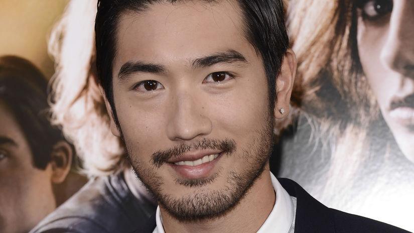 Herec Godfrey Gao na archívnom zábere z roku 2013.
