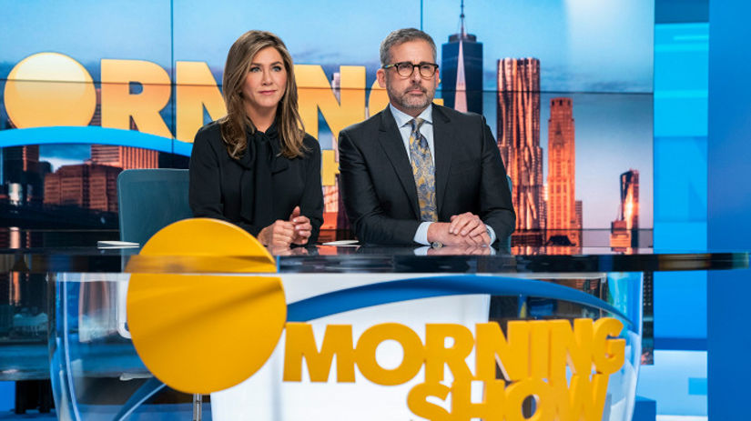 jennifer aniston, steve carell, the morning show,