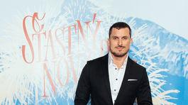 PF Herec Ján Koleník na filmovej premiére Šťastný nový rok.