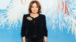 Herečka Emília Vášáryová vyzerala na premiére očarujúco.