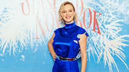 Na filmovej premiére Šťastný nový rok nechýbala ani herečka Antónia Lišková.