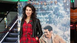 Na premiéru filmu Last Christmas prišla aj herečka a speváčka Veronika Strapková.