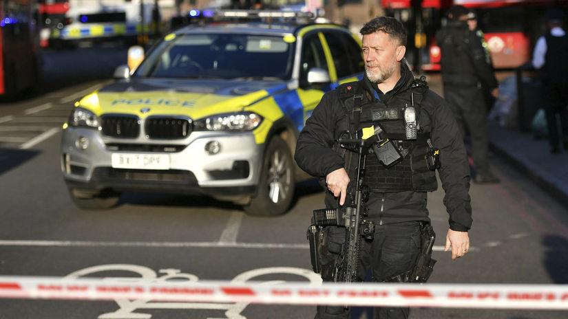 Británia Londýn most streľba incident