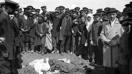 Chodynsk pole 30.5.1896 pi korunovaci Mikule II.