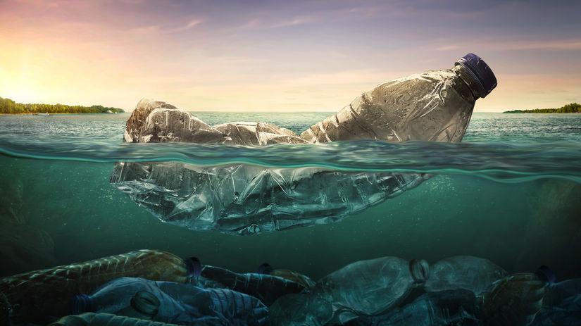 вода, пластик, мусор