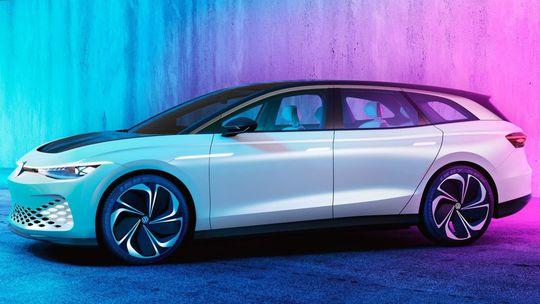 VW ID. Space Vizzion: Toto je Passat Variant budúcnosti