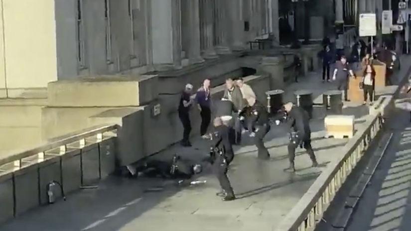 británia londýn útočník Londone bridge