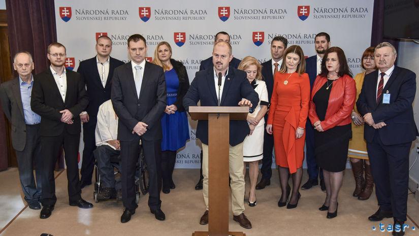 ĽSNS kandidátka Kotleba