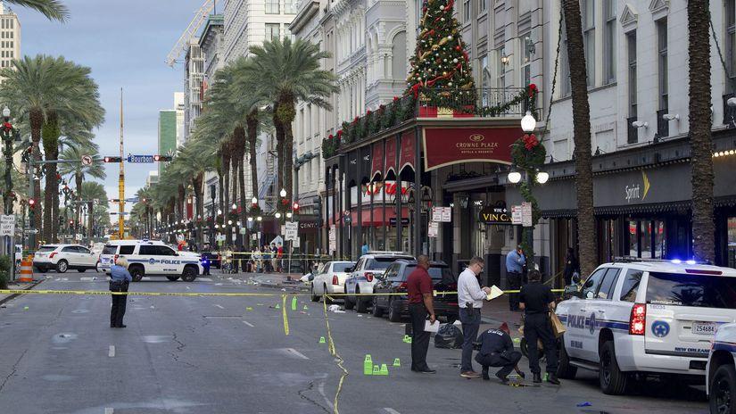 new orleans streľba polícia USA