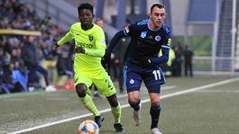 SR futbal FL 17. kolo Žilina Slovan ZAX