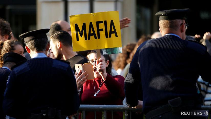 Malta protesty