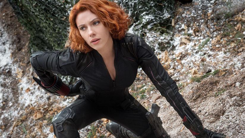 Scarlett Johansson, Black Widow/Natasha...