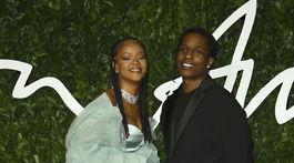 Speváčka Rihanna a raper ASAP Rocky prišli spoločne.