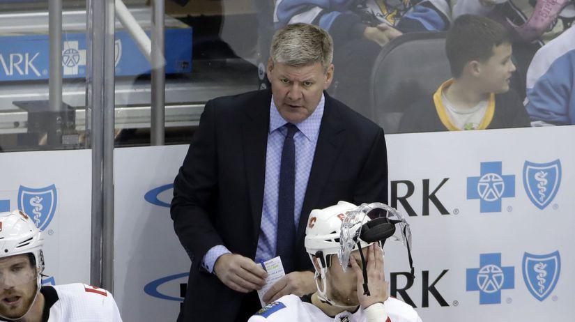 Flames Penguins Hockey peters