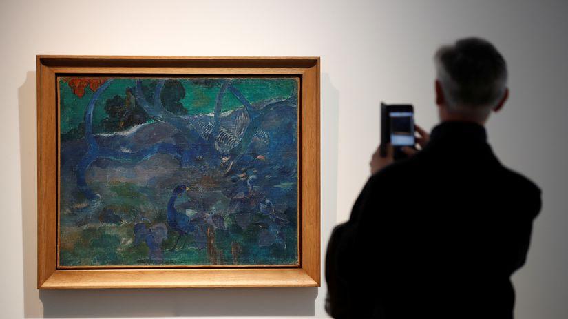 Paul Gauguin / Te Bourao / obraz / maľba /...