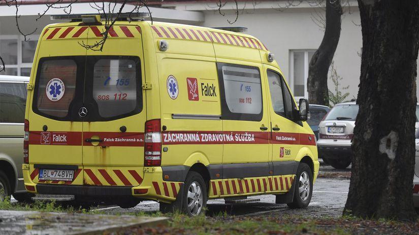SR zdravotníctvo sanitky Košice KEX