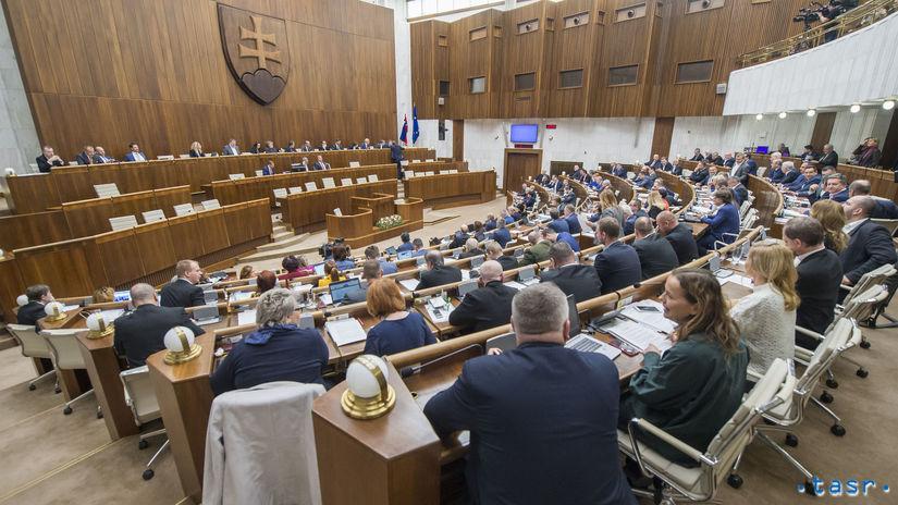 NRSR 53. schôdza zasadnutie parlamnet